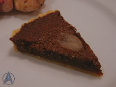 Sweet Leola Root Tart, as invented by Tuvok after his mind was affected by an alien encounter (Voyager: Riddles, s6ep6)