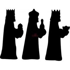 Risultati immagini per three kings silhouette Christmas Nativity Scene, Christmas Wood, Christmas Crafts For Kids, Christmas Decorations, Silhouette Nativité, Nativity Silhouette, Man Crafts, Bible Crafts, Diy Natal