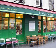 El Guacamole 37 Rue Yves Toudic – 75010 Paris Métro : Jacques Bonsergent 01 42 41 09 09 Tous les jours de midi à 23h