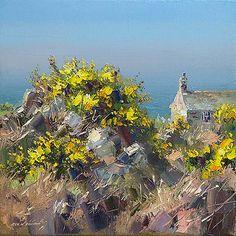 Rex Preston - Cottage by the Sea, Cornwall