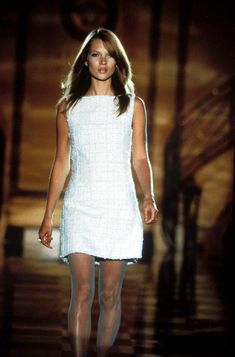 kate moss in white versace