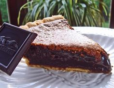 Angus Barn Chocolate Chess Pie>  The BEST ever- add Hagen Daaz chocolate ice cream (whip cream but not needed)....YUMMY!
