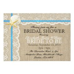 Country Wedding Bridal Party Proposal Cards