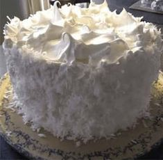 Coconut Cake with Seven-minute Frosting – All Recipes Guide Coconut Cake Frosting, Frosting Recipes, Cake Recipes, Dessert Recipes, Quick Recipes, Coconut Cakes, Coconut Recipes, Cooking Recipes, Dessert Ideas