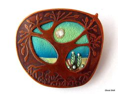 Tree of Life Brooch by Ghost Shift