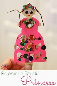 Stick Princess Craft {Mom and Tot Craft Time} Toddler Approved!: Popsicle Stick Princess Craft {Mom and Tot Craft Time}Toddler Approved!: Popsicle Stick Princess Craft {Mom and Tot Craft Time} Popsicle Stick Crafts, Popsicle Sticks, Craft Stick Crafts, Preschool Crafts, Craft Sticks, Toddler Crafts, Crafts For Kids, Arts And Crafts, Craft Kids