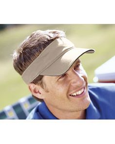 Big Accessories Washed Twill Sandwich Visor BT3V KHAKI/BLACK