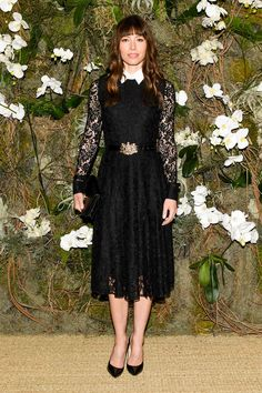 Fashion Week de New York - Jessica Biel en Ralph Lauren (New York, le 15 février 2017).