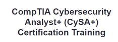Cybersecurity Analyst (CySA+) Certification Training