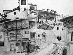 desenhos artisticos de paisagens - Pesquisa Google