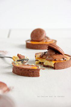 Yummy, it looks delicious :-) Fancy Desserts, Sweet Desserts, Just Desserts, Sweet Recipes, Delicious Desserts, Yummy Food, Dessert Healthy, Sweet Pie, Sweet Tarts