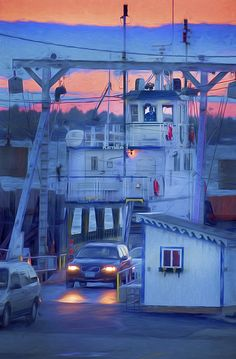 Grand Isle Ferry, Lake Champlain, Islands, Vermont, art, artist, made in Vermont, Vermont made, photography