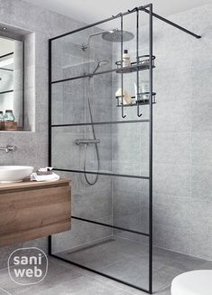 Bathroom Toilets, Bathrooms, Walk In Bathtub, Shower Screen, Air B And B, Simple Bathroom, Bubble Bath, Bathroom Inspiration, Double Vanity
