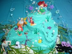 mermaid party decoration ideas | Barbie mermaid party ideas