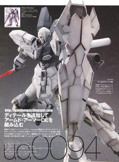 MG 1/100 Sinanju Stein Ver. Ka + 1/100 scale Armed Armor DE