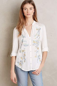 Dear Stitch Fix Stylist: I need a button down, the embroidery is really pretty on this one