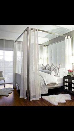 Beautiful.....I love this bedroom!