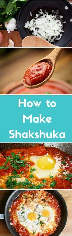 A quick guide to making shakshuka, the popular Israeli egg dish.