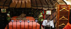 Luxury camping in a Mongolian Yurt | Yurt Holidays in Central Portugal