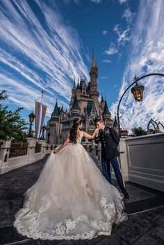 Can't imagine something more romantic 💗 TAG your sweetheart to make sure they know your dream … ⠀ Photo by Jaime, Disney Fine Art Photography via wedding photos Wedding Estates - Mansions For Your Wedding Photography. Luxury Wedding, Destination Wedding, Wedding Planning, Dream Wedding, Wedding Day, Wedding Bells, Wedding Castle, Wedding Venues, Wedding Themes