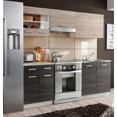Moduler Kitchen, Kitchen Room Design, Kitchen Corner, Home Decor Kitchen, Kitchen Layout, Interior Design Kitchen, Kitchen Furniture, Home Kitchens, Kitchen Cabinet Doors