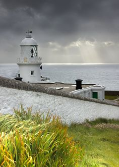 Pendeen lighthouse, Cornwall. Taken by me Fourscore 2012