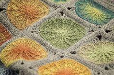 Vinder af DM i hækling 2014: Hæklet tæppe med sole i ruder - Hendes Verden