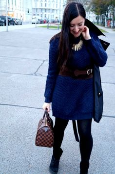 Cozy dress with vintage-belt and casual trench My Outfit, Trench, Cozy, Belt, Casual, Jackets, Vintage, Outfits, Accessories