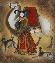 Zayasaikhan Sambuu 1975   Mongolia   Tutt'Art@ #art from #Korea