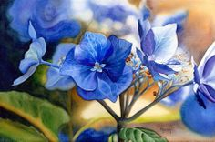 Blue Lace Cap  _Marnie Ward