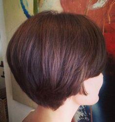Bob Haircut Back View - Short