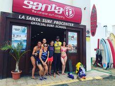 Todos #súper contentos después de una buena #sesiondesurf en la #playa de #Famara con @lasantaprocenter @albert_lasantasurf @marikiya72 @verity_ink @conrodricoba #surflanzarote #surflessons #surfcanarias #surf #surfing #surfday #surfparadise #lasantasurf #lasantasurfprocenter #famara #lanzarote #islascanarias http://ift.tt/SaUF9M
