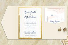 Brush Stroke Wedding Invitations for Appleberry Press Signature Range Unique Wedding Invitations, Wedding Stationery, Louise Smith, Foil Stamping, Wedding Story, Classic Elegance, All Design, Invitation Design, Rsvp