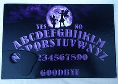 Hand Finished Wooden Full Moon Fairy Talking by ThePlanchette Moon Fairy, Purple Sky, Ghost Hunting, Ouija, Full Moon, Runes, Faeries, A4, Mystic