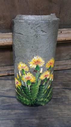 노란색은 언제나 마음을 밝게 해줍니다어제는 지진 으로 인해 가슴 한켠 쓸어내리는 공포를 느껴야만 했던 ... Acrylic Painting Flowers, One Stroke Painting, Fabric Painting, Painting On Wood, Art Drawings Sketches, Cool Drawings, Barn Wood Crafts, Metal Pen, Stone Pictures