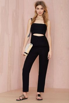 Nasty Gal After Dark Cutout Jumpsuit | Shop What's New at Nasty Gal