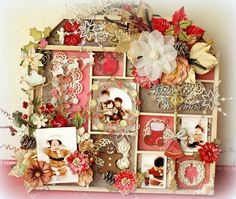 2Crafty Chipboard - Merry Christmas from Maiko