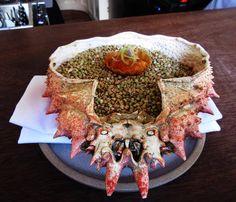226 vind-ik-leuks, 5 reacties - Peter Atzen (@copenhagen_foodie) op Instagram: 'Spidercrab tartelet with a brown crab hollandaise. A great start of the meal. For full review see…'