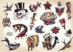 vintage tattoos - Google Search