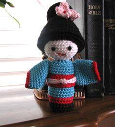 Sweet little crocheted Geisha