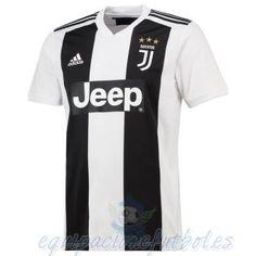 Tailandia Casa Camiseta Juventus 2018 2019 Blanco Negro equipacionefutbol 560e38f40a093
