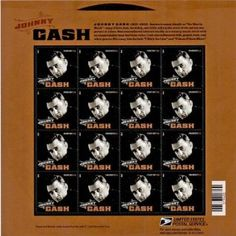 US Stamps 2013  - Music Icon Johnny Cash