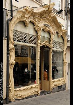 Art Nouveau  Oporto Portugal