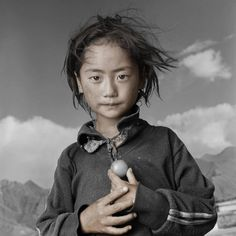 «Тибетский портрет» Фила Боргеса (Phil Borges)