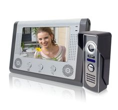 86.24$  Watch here - http://aliax3.worldwells.pw/go.php?t=32257322138 - Free Shipping 7 Inch Big Screen Wired Video Door Phone For Door Access Control System door camera 86.24$