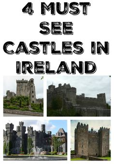 Are you dreaming of Ireland? If you are wanting to plan a trip and want to know what castles in Ireland you should see, here are 4 to add to your list.