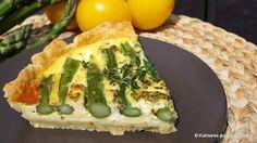 Kulinarne przygody Gatity: Tarta z zielonymi szparagami