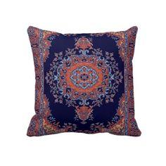 Vintage Persian inspired cushion US$65.80