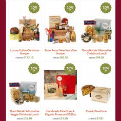 Early Bird Food Hamper Offer - Save 10% on Christmas Hampers until 31st October