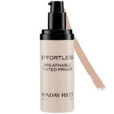 "Newest edition to my ""can't live without"" list! Sunday Riley - Effortless Breathable Tinted Primer  in Medium #sephora"